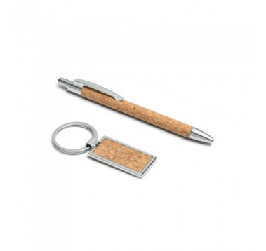 Набір ручка + брелок в подарунковій коробці Es-393324