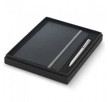 Набір ручка + блокнот у подарунковій коробці Es-393714