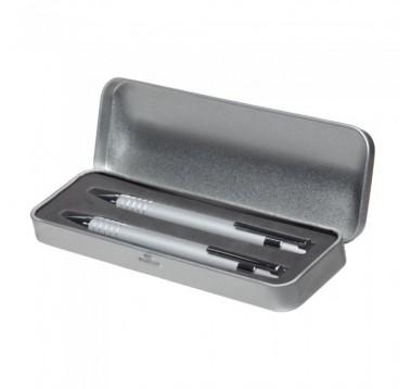 Набір ручка + олівець в металевому футлярі Es-953298