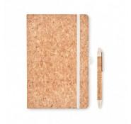 ЕКО-блокнот з ручкою Suber, А5