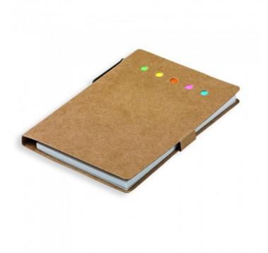 Еко записник А6 із ручкою Es-393791