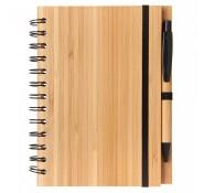 Еко блокнот з ручкою А5