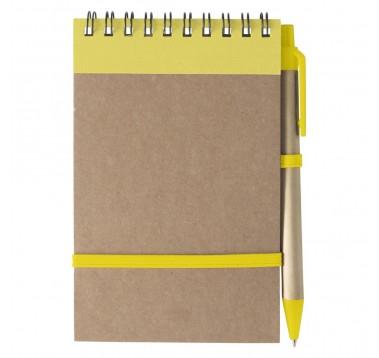 Еко блокнот із ручкою А6 Es-955410