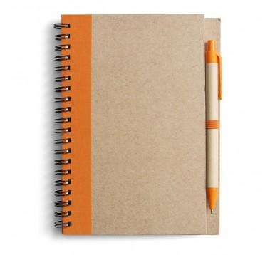 Еко-блокнот із ручкою Es-952715