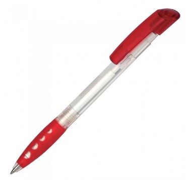 Пластикова ручка Bubble Transparent Es-14400
