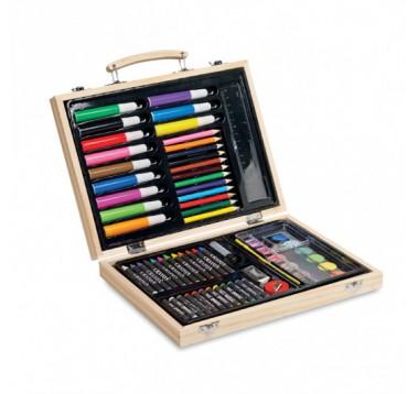 Набір для малювання 67 штук різних предметів Genio