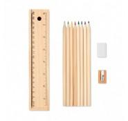 Набір кольорових олівців 8 штук Todo Set