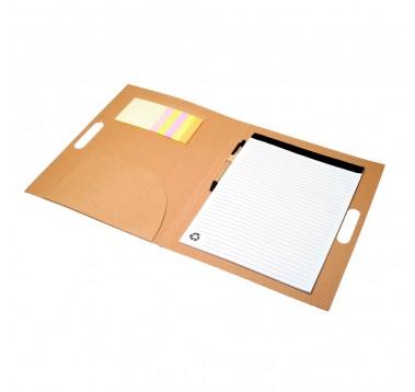Еко папка із блокнотом та ручкою Es-956417